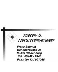 Fliesen- & Natursteinverleger Franz Schmid