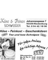Käse & Feines Schweiger